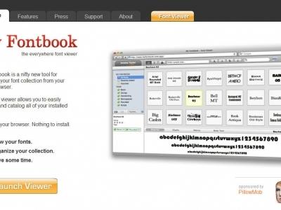 線上快速檢視字型的軟體-MyFontbook