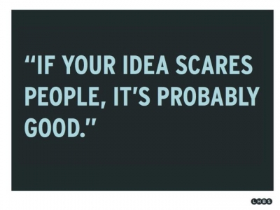 有人跟你說你的idea不可能?太棒了!