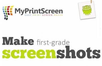 超簡單的畫面截圖軟體 MyPrintScreen